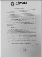 Câmara adota medida de enfrentamento contra a covid-19