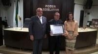 Câmara Entrega Título de Honra ao Mérito às Bandas Municipal e Mirim