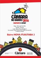 CÂMARA NO BAIRRO 2016 - Bairro Nova Ituiutaba 3