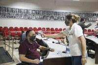 Câmara retoma atividades reforçando as ações contra Coronavírus COVID 19