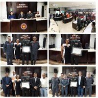 Comandante Geral do Corpo de Bombeiros de Minas Gerais recebe Título de Cidadão Tijucano