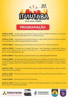 Comemoração do aniversário de Ituiutaba tem programação especial