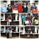 Jovem paratleta recebe Título de Cidadão Tijucano