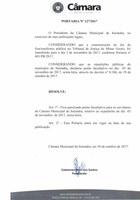 Nesta sexta-feira dia 03 de novembro de 2017, não haverá Expediente Municipal