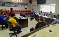 Presidente do Legislativo reúne com comerciantes para discutir sobre medidas para reabertura do comércio