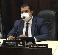 Renato Moura apresenta indicação de regularização de imóveis, termo de cessão e uso no Bairro Tupã 2