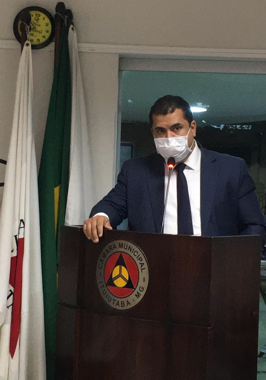 Renato Moura solicita ao Executivo por meio de indicação vacina em combate a covid-19 para diversos setores profissionais