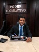 Solenidade de Posse do 1º Suplente de Vereador Alisson Alves Camargos - Partido AVANTE 07/01/2021