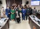 Solenidade de Posse dos Vereadores eleitos para legislação 2021/2024, realizada no dia 1º de Janeiro de 2021