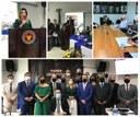 Solenidade de Posse Prefeita e Vice-Prefeito eleitos para Legislatura 2021/2024, realizada no dia 1º de Janeiro de 2021