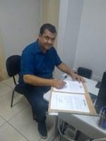 Vereador Renato Moura volta a ocupar cadeira no Legislativo Tijucano