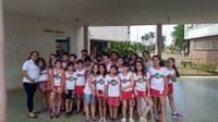 Vereadora Gabriela Ceschim leva alunos para conhecer o Legislativo e Executivo de Ituiutaba.