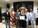 Voluntária do Sanatório José Dias Machado é agraciada com Título de Cidadã Honorária
